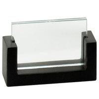 Cal-Mil 1510-32-96 U-Frame Midnight 3 1/2 inch x 2 inch Cardholder