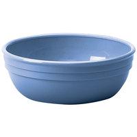 Cambro 100CW401 Camwear 12.5 oz. Slate Blue Polycarbonate Nappie Bowl - 48/Case