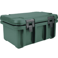 Cambro UPC180192 Granite Green Camcarrier Ultra Pan Carrier - Top Load for 12 inch x 20 inch Food Pan