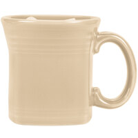 Homer Laughlin 923330 Fiesta Ivory 13 oz. Square Mug - 12/Case