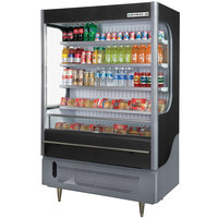 Beverage-Air VM18-1-B VueMax 51 inch Black Air Curtain Merchandiser
