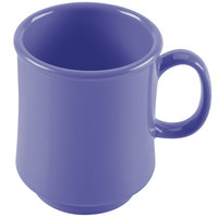 GET TM-1308-PB Mardi Gras 8 oz. Peacock Blue Tritan Stacking Mug - 24/Case