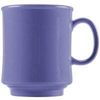 GET TM-1308-PB Mardi Gras 8 oz. Peacock Blue Tritan Stacking Mug - 24/Case
