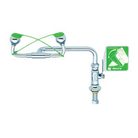 T&S EW-7612 Swing Away Eyewash Unit - Right Counter Mount