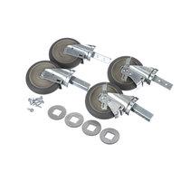 Cres Cor 0569 311 K3 Caster Kit (4 W/ Hardware)
