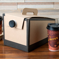 LBP 6999 160 oz. Coffee Take Out Container - 5/Pack