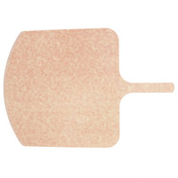 American Metalcraft MP1826 18 inch Square Pressed Natural Pizza Peel with 5 inch Handle