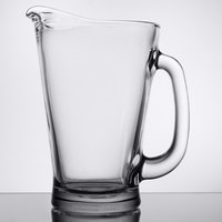 Anchor Hocking 1155UR 55 oz. Glass Beer Wagon Pitcher - 6/Case