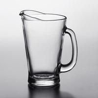Anchor Hocking 1155UR 55 oz. Glass Beer Wagon Pitcher   - 6/Case