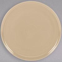 Homer Laughlin 575330 Fiesta Ivory 12 inch China Pizza / Baking Tray - 4/Case