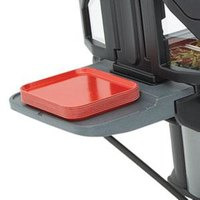 Cambro VBRTBL191 Granite Gray End Table for Cambro Versa Food Bars and Work Tables