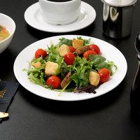 Arcoroc R0804 Candour 8 1/2 inch White Porcelain Salad Plate by Arc Cardinal - 24/Case