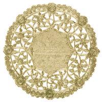 4 inch Gold Foil Lace Doily - 1000/Case