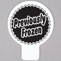 Deli Tag Topper - PREVIOUSLY FROZEN - Black