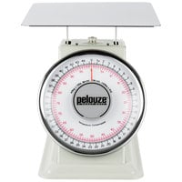 Rubbermaid FG10B100 Pelouze 100 lb. / 45 kg. Dual Read Mechanical Receiving Scale