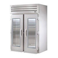 True STG2RRI-2G Specification Series Two Section Roll In Refrigerator with Glass Doors - 75 Cu. Ft.