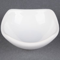 American Metalcraft SQSC20 Squound 2 oz. White Ceramic China Sauce Cup