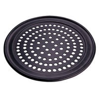 American Metalcraft SPHCTP18 18 inch Super Perforated Hard Coat Anodized Aluminum Wide Rim Pizza Pan