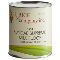 I. Rice #10 Can Hot Fudge Ice Cream Topping