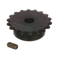 Antunes 7001652 Sprocket 25B18 5/16Bore Kit