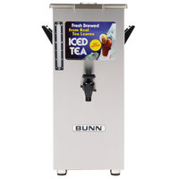 Bunn 03250.0005 TD4T Tall 4 Gallon Square Iced Tea Dispenser with Brew-Through Lid