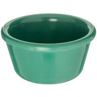 Carlisle S28509 4 oz. Green Smooth Melamine Ramekin - 48/Case