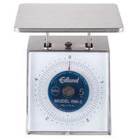 Edlund RM-5 Four Star 5 lb. Portion Scale with 7 inch x 8 3/4 inch Platform