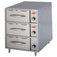 Wells RWN3 3 Drawer Narrow Freestanding Warmer - 208/240V