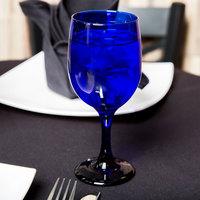 Libbey 4111SRB Cobalt 11.5 oz. Premiere Blue Goblet - 12/Case