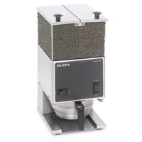 Bunn 26800.0000 LPGE Low Profile 6 lb. Double Hopper Grinder - 120V