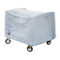 Metro DSDV11 Heavy-Duty 6-Mil Double Side Load Dish and Tray Cart Vinyl Cover