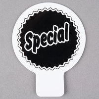 Deli Tag Topper - SPECIAL - Black