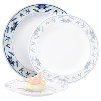 GET M-418-B Water Lily 16 inch Melamine Plate - 12/Pack
