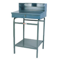 Winholt RDSWNSS-2 Stainless Steel 22 inch Stationary Receiving Desk