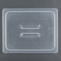 Cambro 20PPCH 1/2 Size Translucent Polypropylene Handled Lid