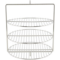 Nemco 67097 Three Tier 12 inch Diameter Rack System