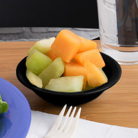 Carlisle 4386603 Black Dayton 4.75 oz. Fruit Bowl - 48/Case