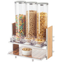 Cal-Mil 1499 Eco Modern Cereal Dispenser with Three 15 Liter Bins