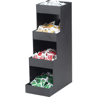 Cal-Mil 1261 Classic Four Tier Black Condiment Organizer