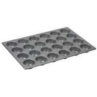 24 Cup Aluminized Steel Cupcake / Muffin Pan 3.8 oz.