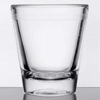 GET SW-1409 (SW1409) 1.5 oz. Customizable SAN Plastic Shot Glass - 24/Case