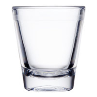 GET SW-1409 (SW1409) 1.5 oz. SAN Plastic Shot Glass - 24/Case