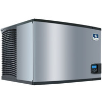 Manitowoc IY-0505W Indigo Series 30 inch Water Cooled Half Size Cube Ice Machine - 208-230V, 550 lb.