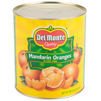 #10 Can Whole Mandarin Oranges in Light Syrup - 6/Case