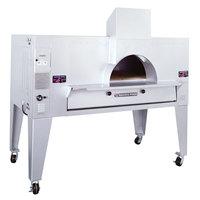 Bakers Pride FC-516 IL Forno Classico Natural Gas Brick Lined Deck Oven - 48 inch