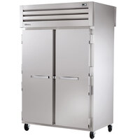 True STR2HPT-2S-2S Specification Series Two Section Pass-Through Heated Holding Cabinet