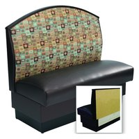 American Tables & Seating AS-42-F-Wall Fan Back Wall Bench - 42 inch High