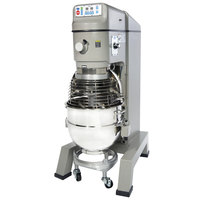 Globe SP62P Gear Driven 60 Qt. Commercial Planetary Floor Pizza Mixer - 220V, 3 hp