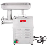 Avantco MG12 #12 1 HP Meat Grinder - 110V