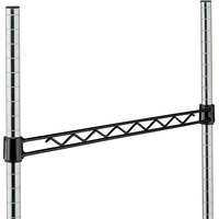 Metro H124B Black Hanger Rail 24 inch